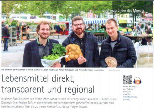 Lebensmittel direkt,transparent und regional