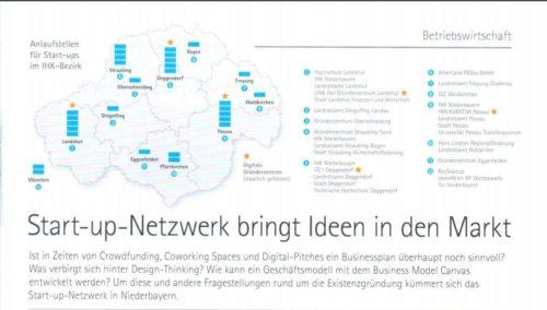 Start-up Netzwerk bringt Ideen in den Markt