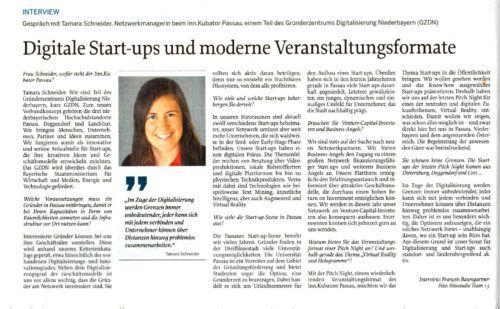 Digitale Start-ups und moderne Veranstaltungsformate