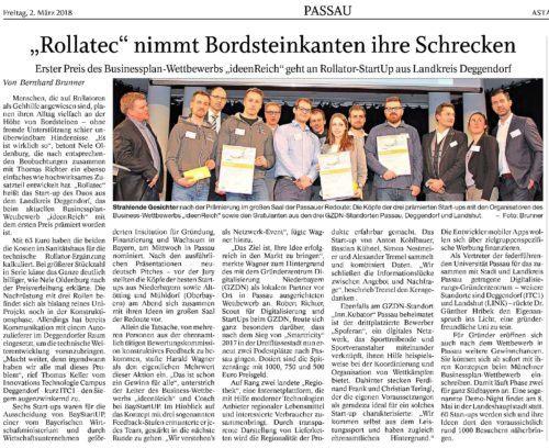 """Rollatec"" nimmt Bordsteinkanten ihre Schrecken"