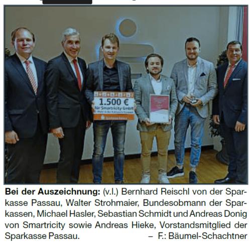 Strom sparen mit Konzept Passauer Start-up räumt Gründerpreis ab