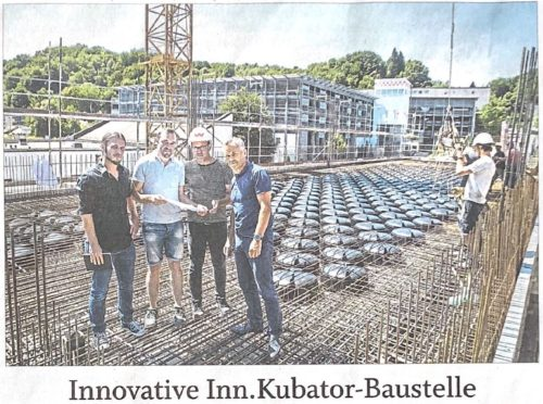 Innovative INN.KUBATOR-Baustelle