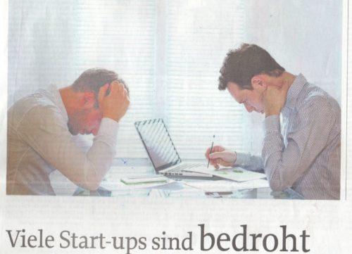 Viele StartUps sind bedroht
