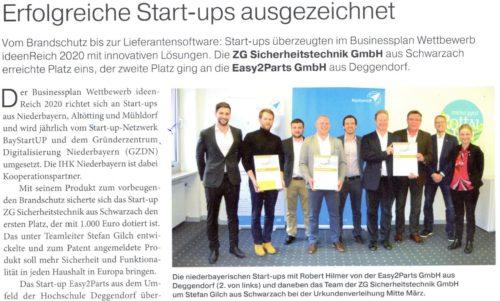 Erfolgreiche StartUps ausgezeichnet
