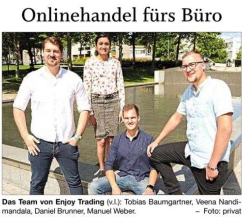Onlinehandel fürs Büro