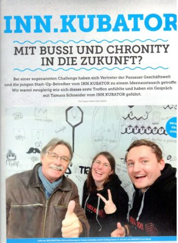 Mit Bussi und Chronify in die Zukunft